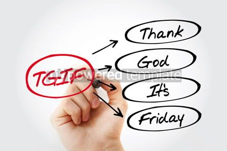 Business: TGIF - Thank God It's Friday acronym #15308