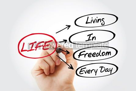 Business: LIFE - Living In Freedom Every Day acronym #15312