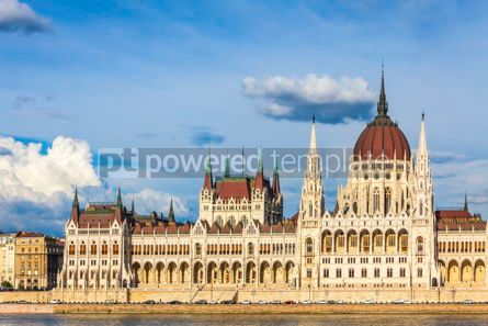 Arts & Entertainment: Building of the Hungarian National Parliament in Budapest #15321