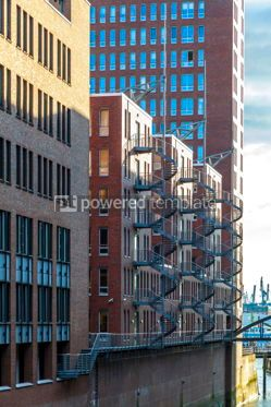 Arts & Entertainment: City of Warehouses disctrict Speicherstadt in Hamburg Germany #15325