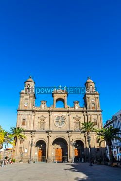 Architecture : Cathedral of Santa Ana in Las Palmas de Gran Canaria Spain #15343