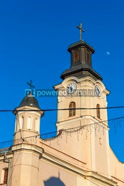 Architecture : Roman Catholic Church of St George in Uzhhorod Ukraine #15345