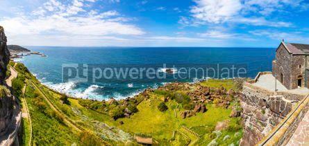 Nature: Panorama of seacoast on Sardinia island Italy #15425