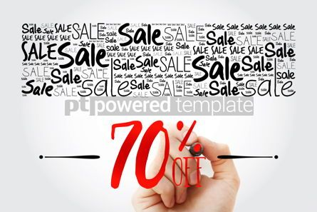 Business: 70 OFF Sale word cloud collage business concept background #15481