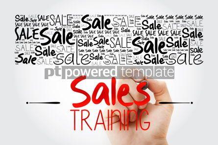 Business: Sales Training word cloud background business concept backgroun #15488