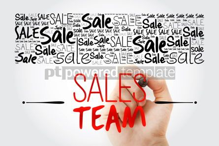 Business: Sales Team word cloud collage business concept background #15499