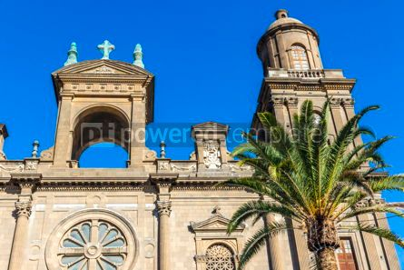 Architecture : Cathedral of Santa Ana in Las Palmas de Gran Canaria Spain #15500