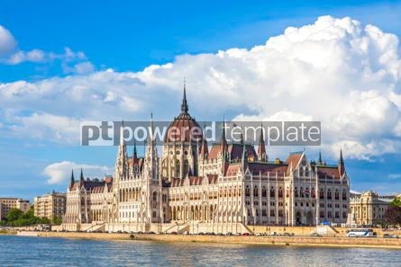 Architecture : Building of the Hungarian National Parliament in Budapest #15501