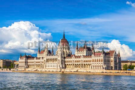 Architecture : Building of the Hungarian National Parliament in Budapest #15502