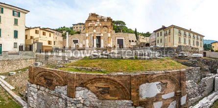 Architecture : Capitolium of Brixia Brescia Italy #15514