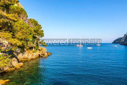 Nature: Beautiful view of the Bay of Paraggi in Santa Margherita Ligure #15529