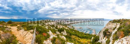 Nature: Panoramic view of Cagliari city Sardinia island Italy #15546