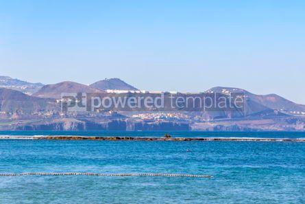 Nature: Las Canteras Beach in Las Palmas de Gran Canaria Spain #15560