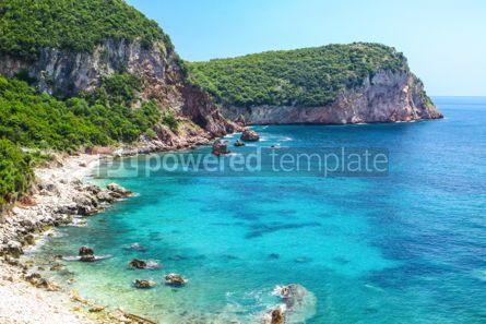 Nature: Adriatic seacoast in Budvan Riviera Montenegro #15564