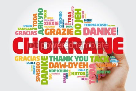 Business: Chokrane Thank You in Arabic - Middle East North Africa Word #15616