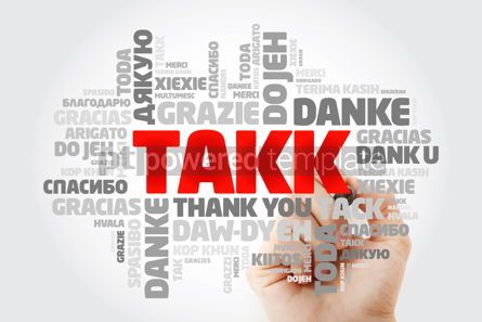 Business: Takk Thank You in Icelandic Word Cloud in different languages #15621
