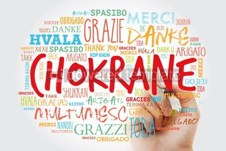 Business: Chokrane Thank You in Arabic - Middle East North Africa Word #15630