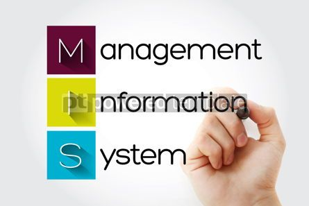 Business: MIS - Management Information System acronym business concept ba #15683