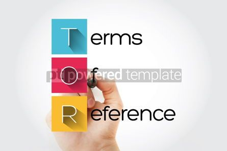 Business: TOR - Terms of Reference acronym business concept background #15686