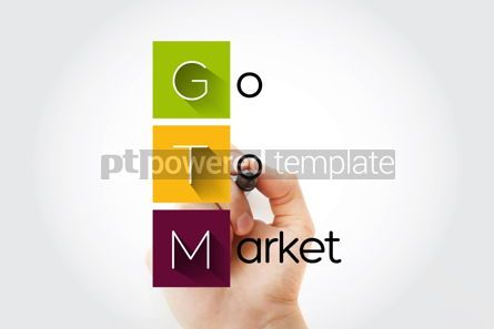 Business: GTM - Go To Market acronym business concept background #15691