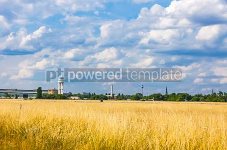 Nature: Berlin Tempelhof Airport former airport of Berlin Germany #15706