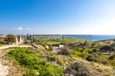 Nature: Mediterranean seacoast on Cyprus #15711