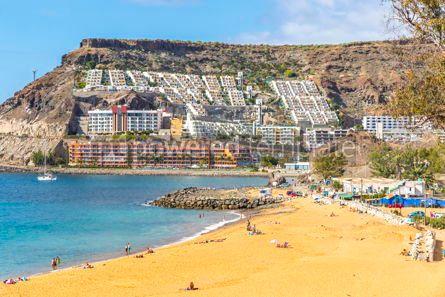 Nature: Tauro beach Playa de Tauro on Gran Canaria island Spain #15718