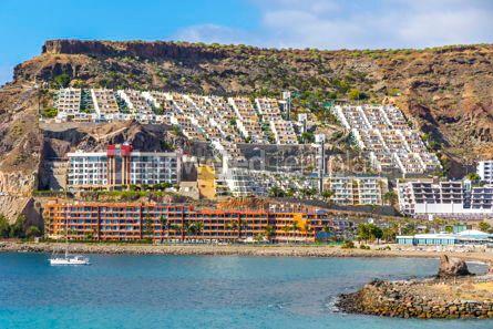 Nature: Cura beach Playa del Cura on Gran Canaria island Spain #15719