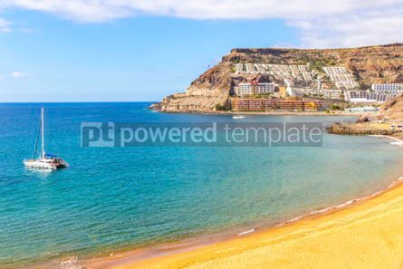 Nature: Ocean bay near Tauro beach Playa de Tauro Gran Canaria Spain #15720