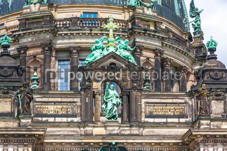 Architecture : Facade details of Berlin Cathedral Berliner Dom Germany #15729