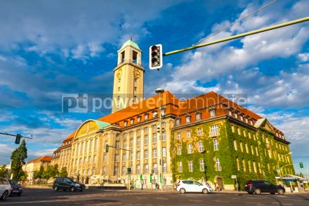 Architecture : Building of Berlin-Spandau Town Hall Rathaus Spandau Germany #15730