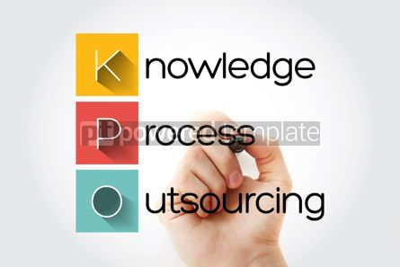 Business: KPO - Knowledge Process Outsourcing acronym business concept ba #15745