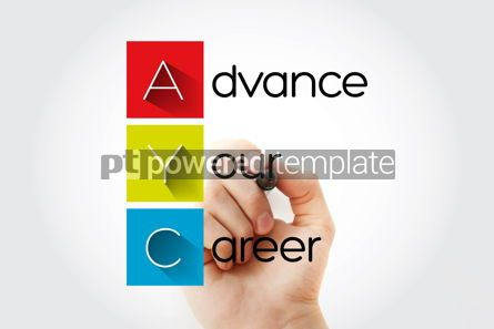 Business: AYC - Advance Your Career acronym with marker business concept #15751
