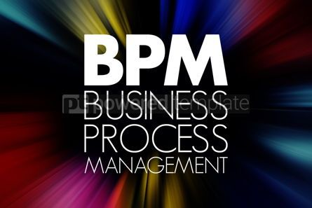 Business: BPM - Business Process Management acronym business concept back #15759