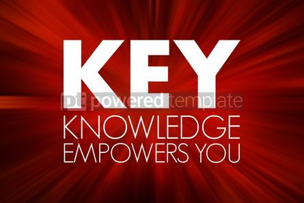 Business: KEY - Knowledge Empowers You acronym business concept backgroun #15762