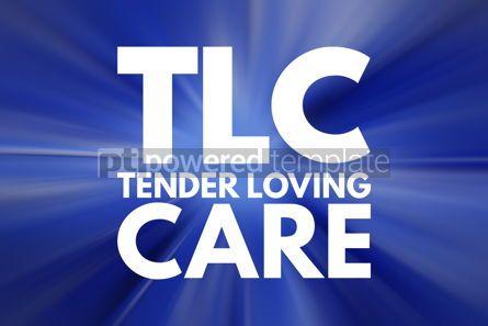 Business: TLC - Tender Loving Care acronym concept background #15773