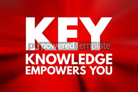 Business: KEY - Knowledge Empowers You acronym business concept backgroun #15774