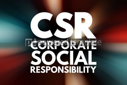 Business: CSR - Corporate Social Responsibility acronym business concept #15777
