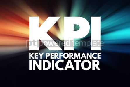 Business: KPI - Key Performance Indicator acronym business concept backgr #15780