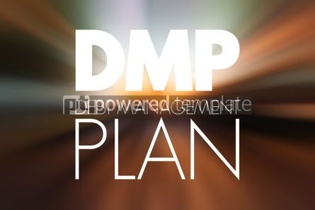 Business: DMP - Debt Management Plan acronym business concept background #15788