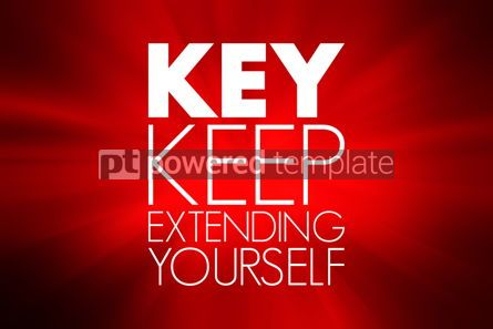 Business: KEY - Keep Educating Yourself acronym education concept backgro #15798