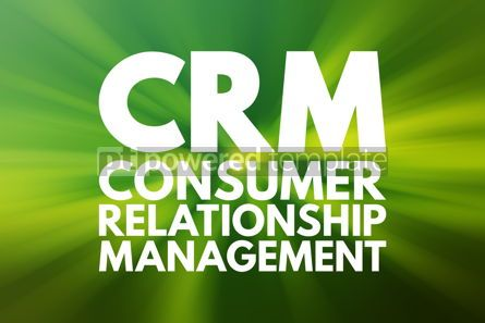 Business: CRM - Consumer Relationship Management acronym business concept #15802