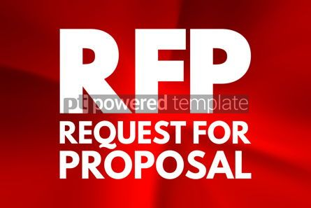 Business: RFP - Request For Proposal acronym business concept background #15804