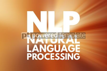 Business: NLP - Natural Language Processing acronym concept background #15813