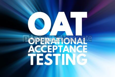 Business: OAT - Operational Acceptance Testing acronym business concept b #15818