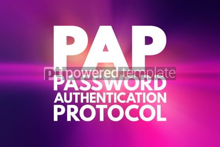 Business: PAP - Password Authentication Protocol acronym technology conce #15820