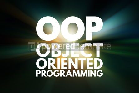Business: OOP - Object Oriented Programming acronym technology concept ba #15824