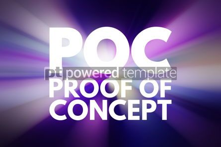 Business: POC - Proof of Concept acronym business concept background #15829