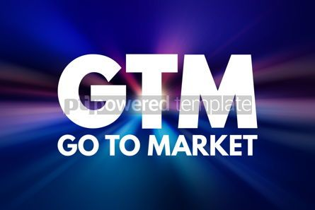 Business: GTM - Go To Market acronym business concept background #15831