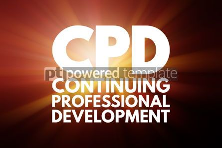 Business: CPD - Continuing Professional Development acronym business conc #15841